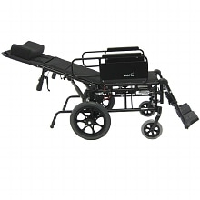 Karman 22in Seat Lightweight Reclining Transport Wheelchair