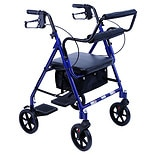Karman Rollator and Transport Combo Blue