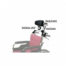 Karman Large Foldable Rigidfy Headrest