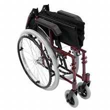 Karman 18 in Seat Ultra Lightweight Wheelchair Burgundy