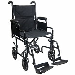 Karman 17in Seat Transport Wheelchair