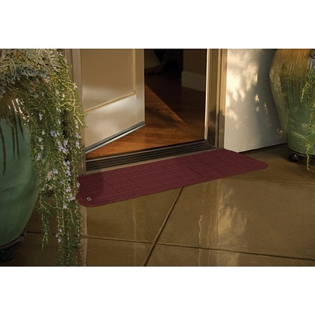 PVI Bighorn Plastic Threshold Brick Burgundy