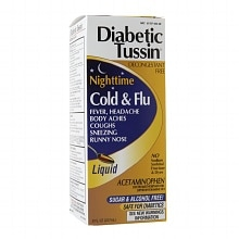 Diabetic Tussin Nighttime Cold and Flu