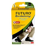 FUTURO Revitalizing Dress Socks for Men, Model 71039EN Large Black