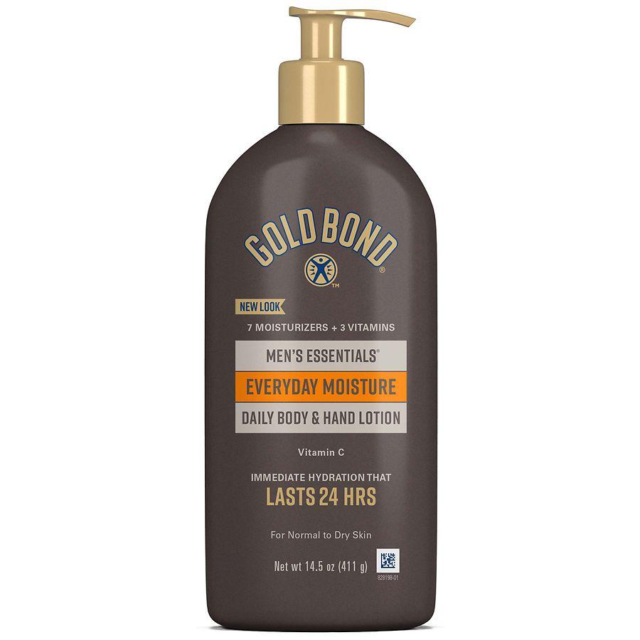 goldbond men Gold bond ultimate men's essentials everyday hydrating lotion, 21 oz add to list bookmark share + add a photo gold bond ultimate men's essentials everyday.