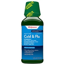 Walgreens Multi-Symptom Nighttime Cold & Flu Relief Original