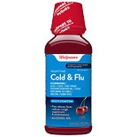 Walgreens Multi-Symptom Nighttime Cold & Flu Relief Cherry