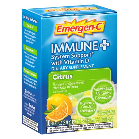 Emergen-C Immune+ Travel Box Citrus