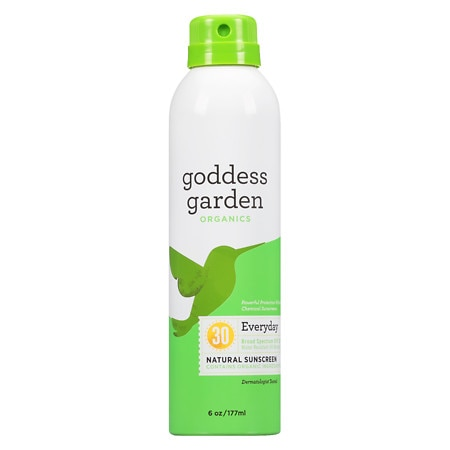 Goddess Garden Sunny Body Natural Sunscreen Continuous Spray  SPF 30