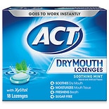 Total Care Dry Mouth Lozenges Soothing Mint