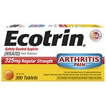 Ecotrin Safety Coated Enteric Aspirin 325 mg Regular Strength