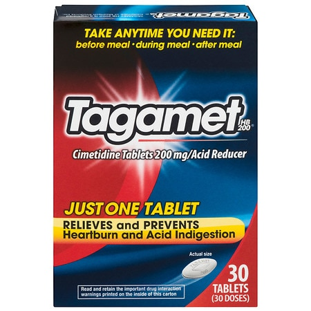 Tagamet HB 200 Acid Reducer Tablets