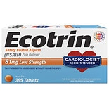 Ecotrin Safety Coated Aspirin Tablets