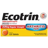 Ecotrin Regular Strength Safety Coated Aspirin Tablets