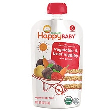 Happy Baby Organic Baby Food:  Stage 3 / Meals, 7+ Months Beef Stew