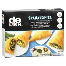 Good & Delish Frozen Entree Spanakopita,6 Pack