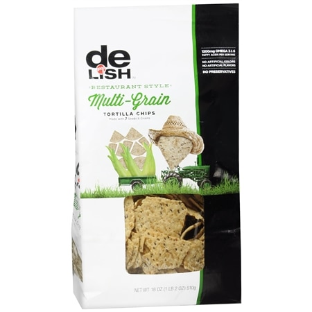 Good & Delish Tortilla Chips Multigrain