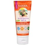 Broad Spectrum SPF 30 Kids Zinc Oxide Sunscreen Cream Tangerine Vanilla