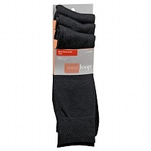 West Loop Men's Dress Crew Socks 6-12 Black