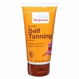 Walgreens Self Tanning Lotion Medium