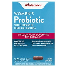 Walgreens Women's Probiotic, Capsules