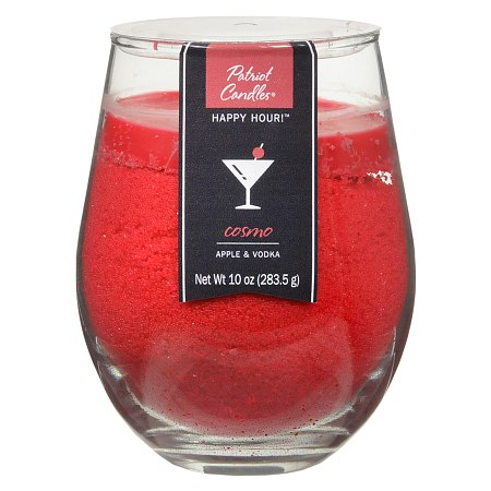 Patriot Candles Happy Hour Jar Candle Apple & Vodka Red