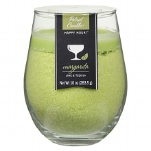 Patriot Happy Hour Jar Candle Lime & Tequila Green