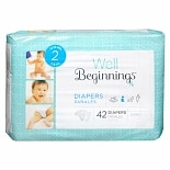 Well Beginnings Premium Diapers Jumbo 2