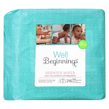 Walgreens Well Beginnings Premium Baby Wipes Refill Scented