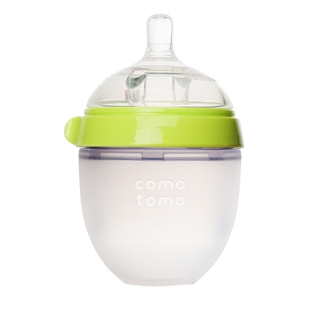 Comotomo Baby Bottle Green