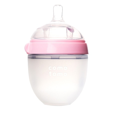Comotomo Baby Bottle Pink