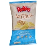 Ruffles Simply Natural Reduced Fat Potato Chips Regular