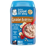 Gerber Lil Bits Oatmeal Cereal Banana Strawberry