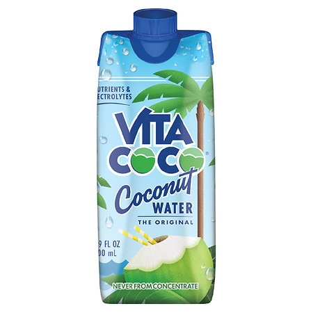 Vita Coco 100% Pure Coconut Water 17 oz Carton Pure