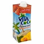 Vita Coco Coconut Water 17 oz Carton Peach & Mango
