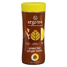 Argo Tea Tea 13.5 oz Bottle Green Tea Ginger