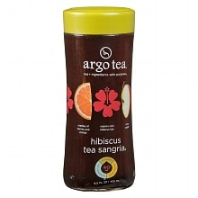 Argo Tea Tea 13.5 oz Bottle Hibiscus Sangria