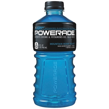 Powerade Sports Drink Moutain Berry Blast