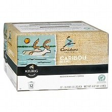 Caribou Ground Coffee K-Cups 12 Pack Caribou Blend
