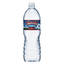 Arrowhead 100% Mountain Spring Water 1 L Bottle