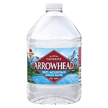 Arrowhead 100% Mountain Spring Water 3 Liter Bottle
