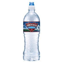 Arrowhead 100% Mountain Spring Water 24 Pack 23.7 oz Bottles