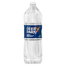 Deer Park 100% Natural Spring Water 1 Liter Bottle