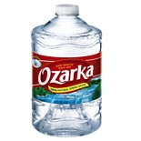 Ozarka 100% Natural Spring Water 3 Liter Bottle