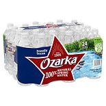 Ozarka 100% Natural Spring Water 24 Pack 16.9 oz Bottles