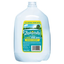 Zephyrhills 100% Natural Spring Water 1 Gallon Bottle