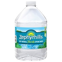 Zephyrhills 100% Natural Spring Water 3 Liter Bottle