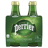Perrier Sparkling Water 4 Pack 11.15 oz Bottles Plain