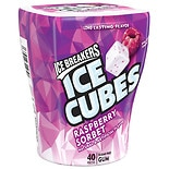 Ice Breakers Ice Cubes Sugar Free Gum Raspberry Sorbet