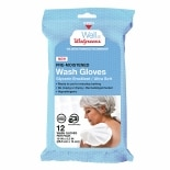 Walgreens Pre-Moistened Wash Gloves